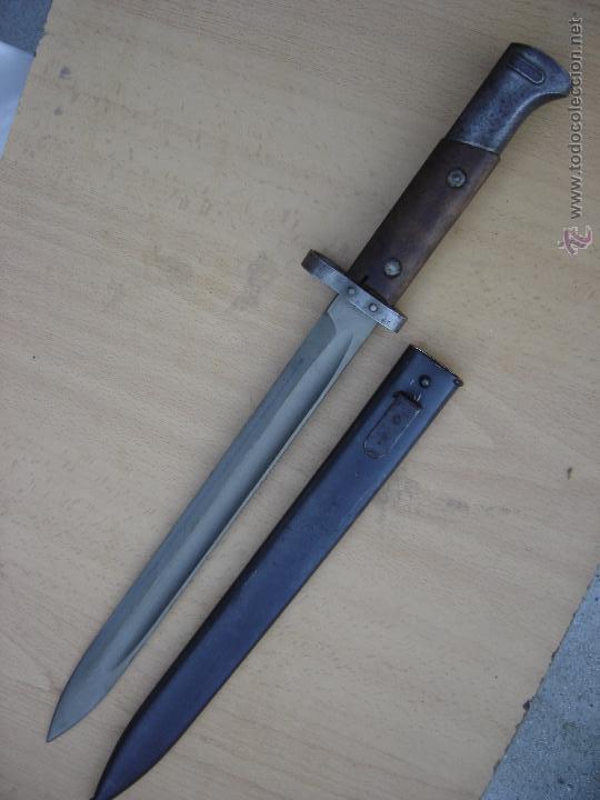 BAYONETA CHECA VZ24. OCUPACIÓN SOVIÉTICA (Militar - Armas Blancas Originales Fabricadas entre 1851 y 1945)