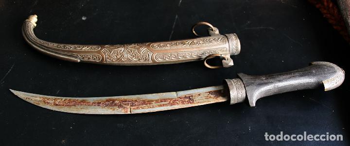 GUMIA MARROQUÍ (Militar - Armas Blancas Originales Fabricadas entre 1851 y 1945)