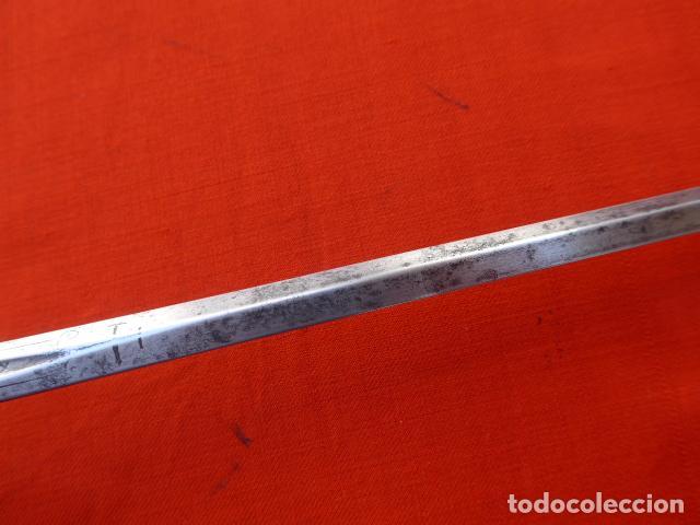 Militaria: * Espectacular antigua espada española de plata, marcada de Toledo de 1817. Con contrastes. ZX - Foto 17 - 101769271