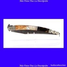 Militaria: IMPORTANTE NAVAJA ANTIGUA DE GRAN TAMAÑO, 50 CMS, EN EXCELENTES CONDICIONES. FRANCIA, 1850. Lote 101983155