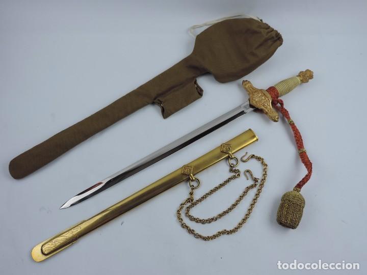 DAGA DE OFICAL DEL EJÉRCITO DE TIERRA. DAGA MODELO 1938. MARCADA FÁBRICA DE ARTILLERÍA DE TOLEDO. CO (Militar - Armas Blancas Originales Fabricadas entre 1851 y 1945)