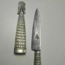 Militaria: CUCHILLO GAUCHO ARGENTINO. ALIMAR, TANDIL. Lote 103171975