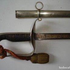 Militaria: SABLE DE OFICIAL GENERAL MOD. 1882, CON VAINA DE ALPACA Y FIADOR SABLE.. Lote 105978863