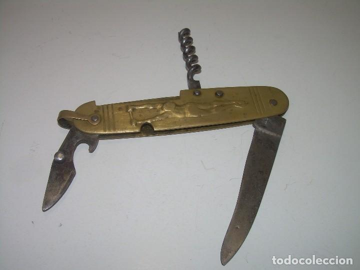 ANTIGUA Y BONITA NAVAJA MULTIUSO...ART DECÓ......AÑOS. 20 (Militar - Armas Blancas Originales Fabricadas entre 1851 y 1945)