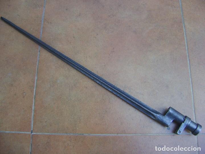 BAYONETA RUSA DE GUERRA CIVIL . (Militar - Armas Blancas Originales Fabricadas entre 1851 y 1945)