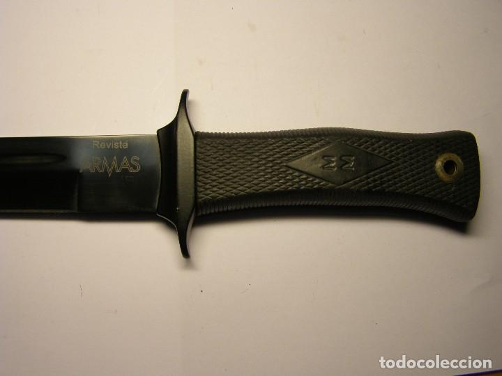 Militaria: Excelente cuchillo MUELA SCORPION, serie limitada revista ARMAS. - Foto 3 - 112483591