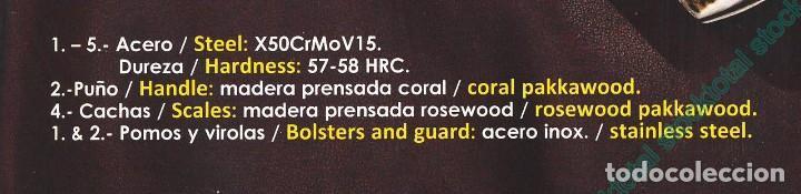 Militaria: CUCHILLO MUELA ELK-14R.I HOJA 14 CM - Foto 3 - 113470083