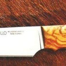 Militaria: CUCHILLO MUELA CRIOLLO-14.OL HOJA 135 MM. Lote 113509651