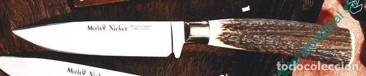 CUCHILLO MUELA NICKER-11A HOJA 11 CMS (Militar - Armas Blancas Originales de Fabricación Posterior a 1945)