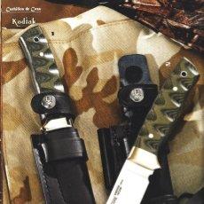 Militaria: CUCHILLO MUELA KODIAK-10GHOJA 10 CMS - EL MARCADO CON EL NUMERO 1. Lote 113603483