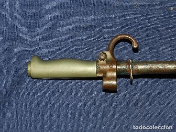 Militaria: (M) BAYONETA FRANCESA ROSALIE , MIDE 65 CM DE LARGO , SEÑALES DE USO NORMAL - Foto 3 - 114451059