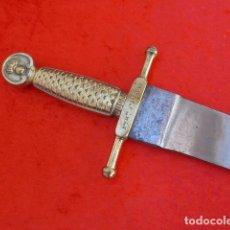 Militaria: * ANTIGUO MACHETE DE ARTILLERIA MARCADO DEL BATALLON EN EL BRONCE. ORIGINAL. ZX. Lote 114722807