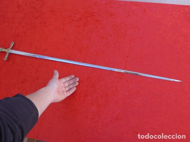 Militaria: * Antigua espada o espadin de carabineros del Reino, original. ZX - Foto 9 - 114726795