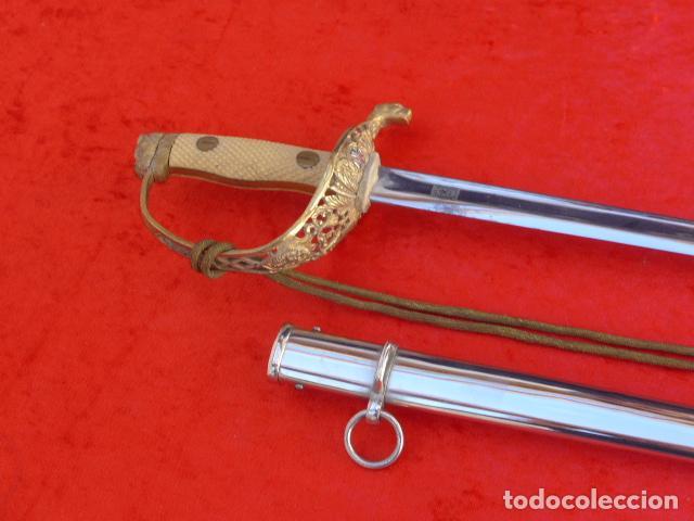 * ANTIGUA ESPADA DE SANIDAD MILITAR, RARA, DEL 1ER MODELO DE 1943, FRANQUISTA. ORIGINAL. ZX (Militar - Armas Blancas Originales Fabricadas entre 1851 y 1945)