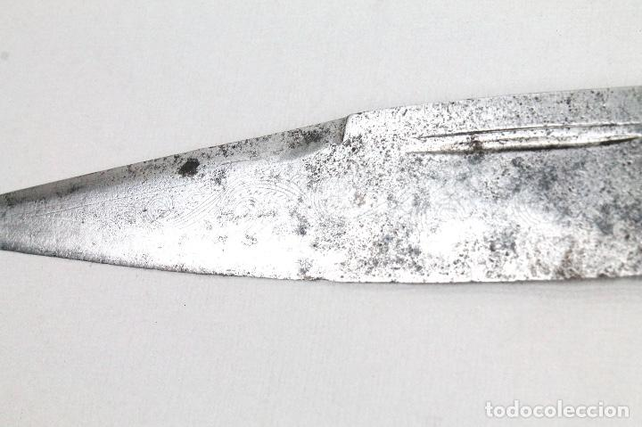 Militaria: Antiguo cuchillo de Albacete del Siglo XVIII - Foto 6 - 114980971