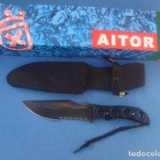 Militaria: CUCHILLO AITOR MODELO TERCIO NEGRO. Lote 116659300