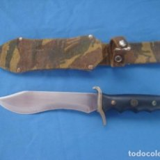 Militaria: CUCHILLO DE CAZA O MONTE MARCA NIETO. Lote 116773727