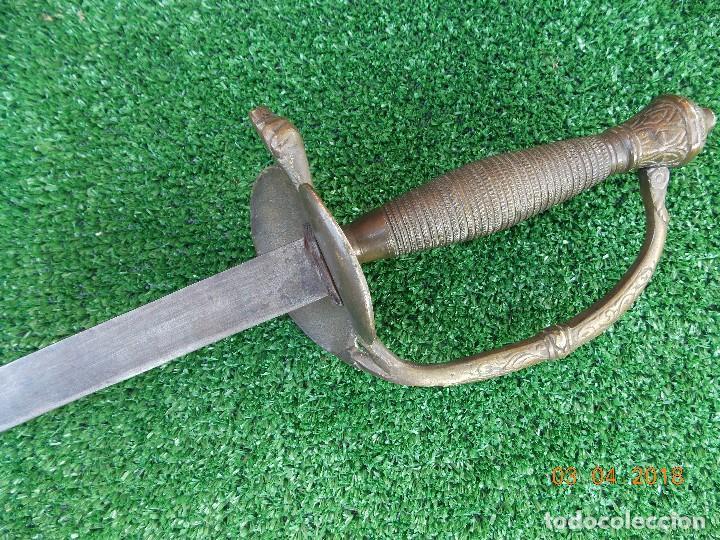 Militaria: Espada Oficial Isabelino - Foto 4 - 117034899