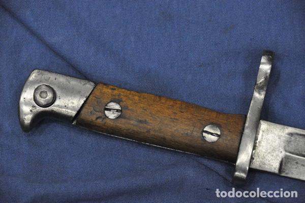 BAYONETA MAUSER MODELO 1935. FABRICADA PARA TURQUÍA. FABRICADA POR ALEX COPPEL SOLINGEN. SIN VAINA. (Militar - Armas Blancas Originales Fabricadas entre 1851 y 1945)