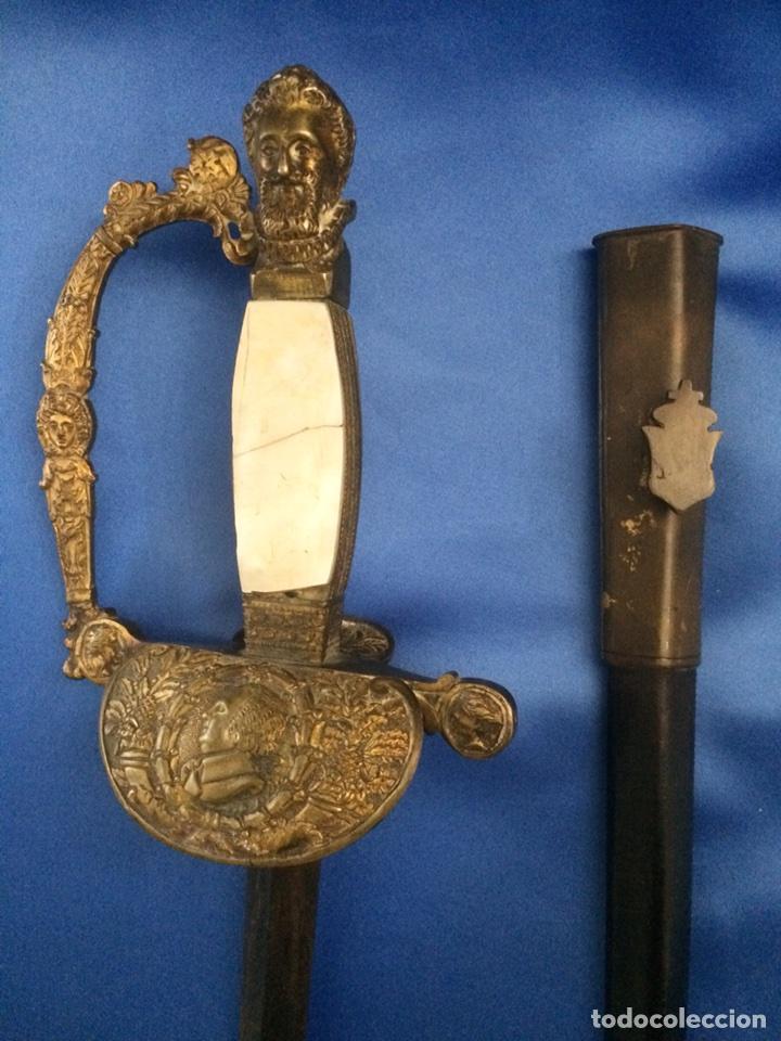 ESPADA CEREMONIAL MILITAR FRANCESA 1814-1824 (PIEZA UNICA) (Militar - Armas Blancas Originales de Fabricación Anterior a 1850)