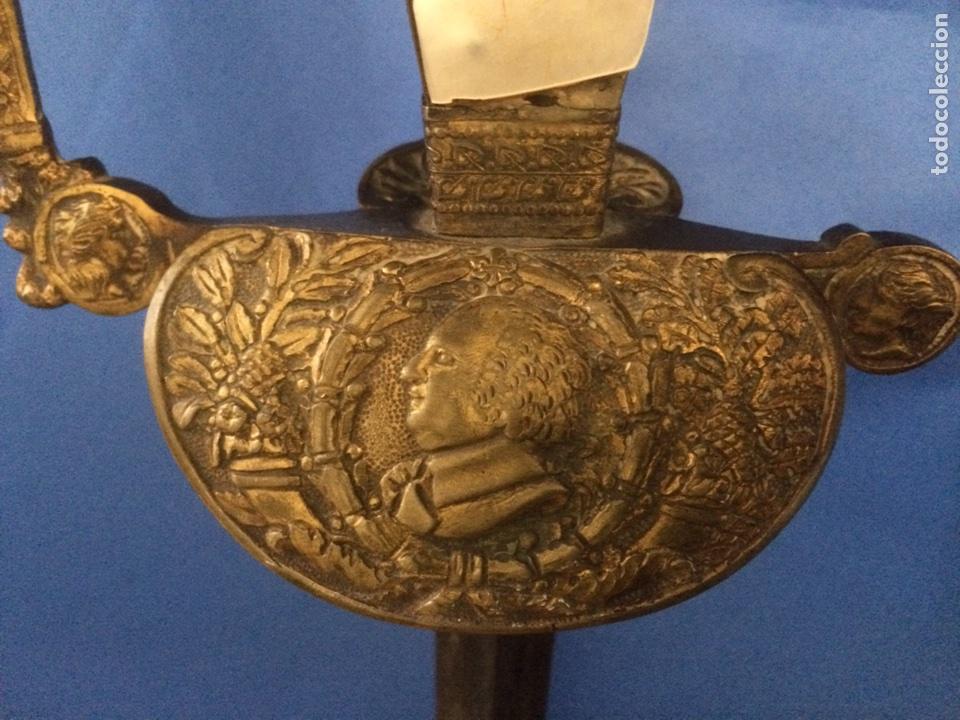 Militaria: Espada ceremonial militar francesa 1814-1824 (pieza unica) - Foto 3 - 119391522