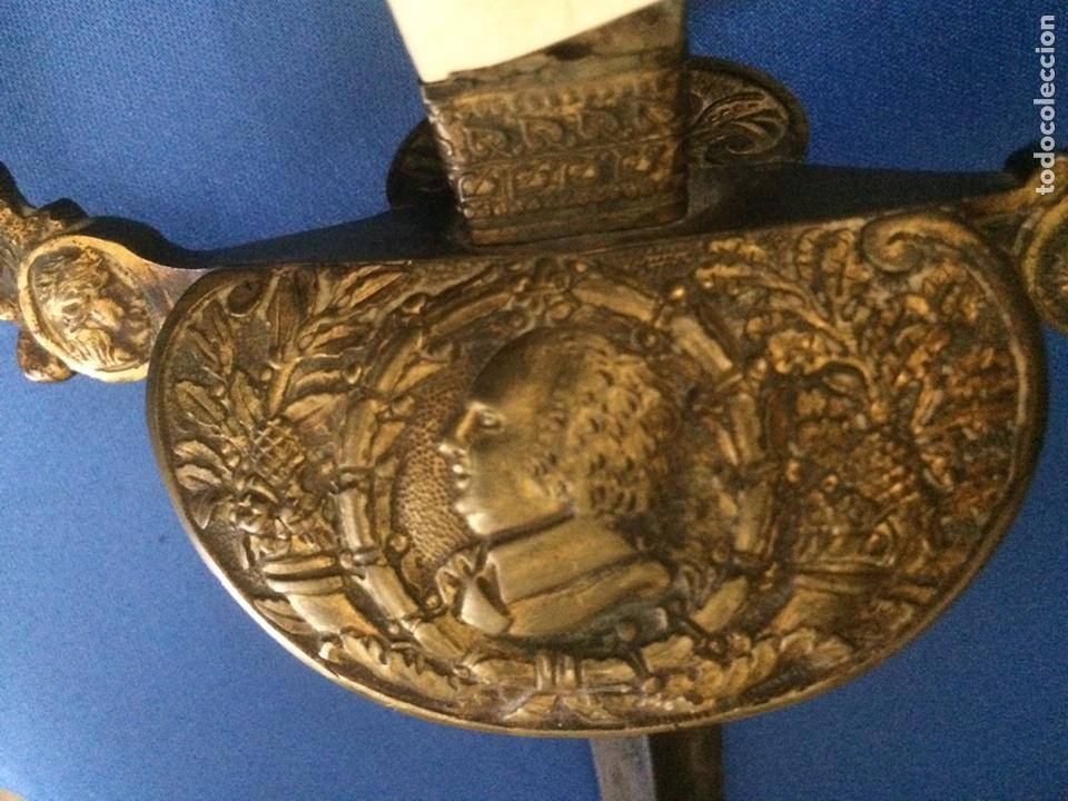 Militaria: Espada ceremonial militar francesa 1814-1824 (pieza unica) - Foto 15 - 119391522