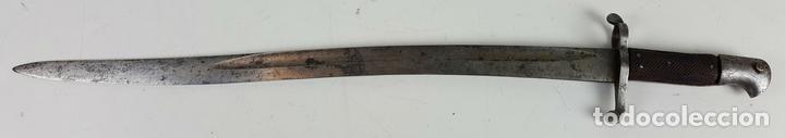 BAYONETA. PARA FUSIL ENDFIELD INGLES. HOJA DE ACERO. INGLATERRA. 1856/1866. (Militar - Armas Blancas Originales Fabricadas entre 1851 y 1945)