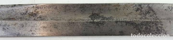 Militaria: BAYONETA. PARA FUSIL ENDFIELD INGLES. HOJA DE ACERO. INGLATERRA. 1856/1866. - Foto 5 - 126270163