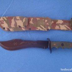 Militaria: CUCHILLO DE CAZA Y MONTE MARCA NIETO MODELO EL GRAN CAZADOR. Lote 128078979