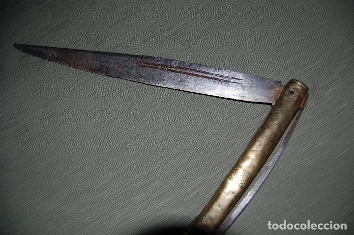 Militaria: NAVAJA DE SANTA CRUZ DE MUDELA - Foto 4 - 129500791
