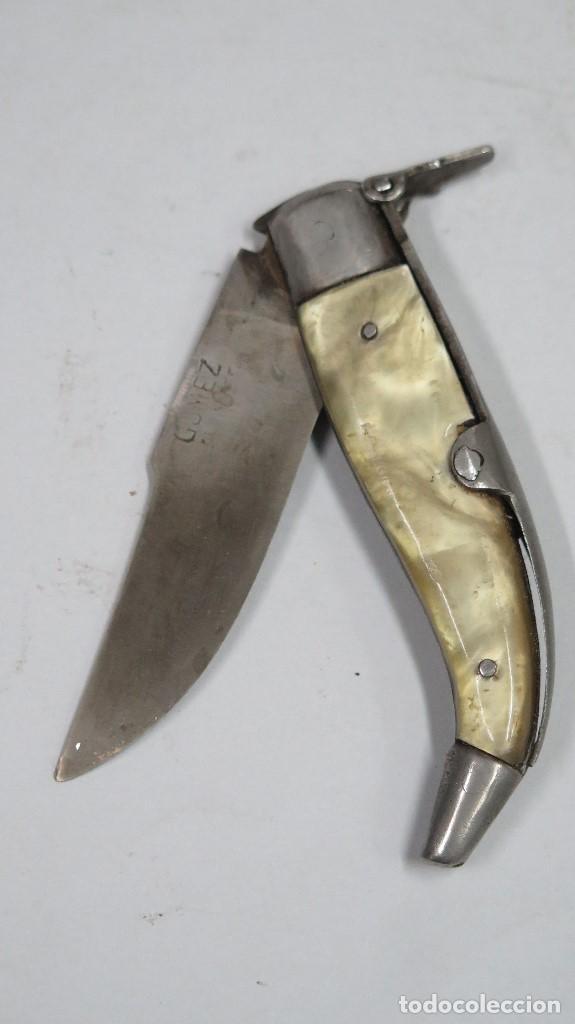 NAVAJA ALBACETE. GOMEZ (Militar - Armas Blancas Originales Fabricadas entre 1851 y 1945)