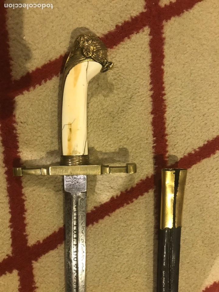 """Militaria: Espada antigua """"In Toledo spanie"""" - Foto 3 - 130590762"""