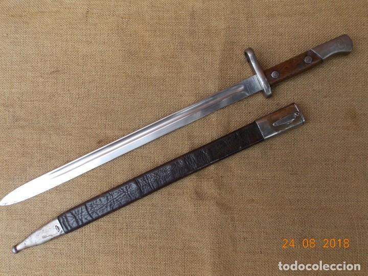 BAYONETA ESPAÑOLA 1911 (Militar - Armas Blancas Originales Fabricadas entre 1851 y 1945)