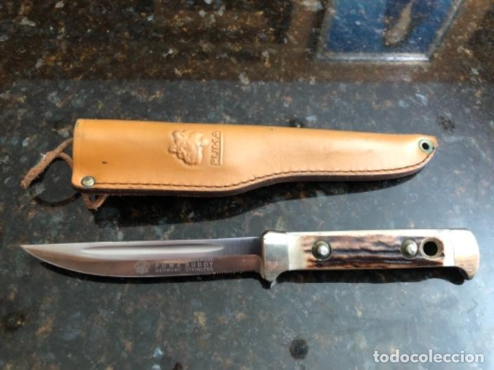 CUCHILLO PUMA (Militar - Armas Blancas Originales de Fabricación Posterior a 1945)