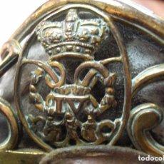 Militaria: BELLO SABLE DE OFICIAL BRITANICO DE INFANTERIA. REINADO DE JORGE IV (1820-1830). MARCAJES EN HOJA.. Lote 132117478