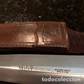 Militaria: Cuchillo Muela - Foto 2 - 131851506