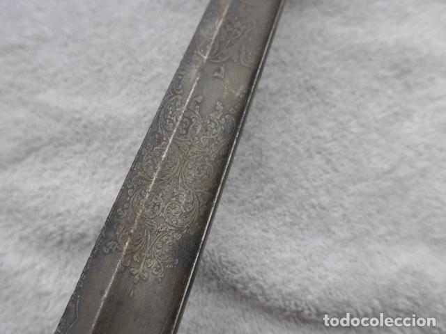 Militaria: * Antigua espada inglesa a identificar, original. ZX - Foto 15 - 161951788
