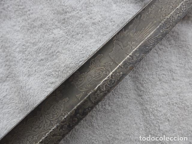Militaria: * Antigua espada inglesa a identificar, original. ZX - Foto 18 - 161951788