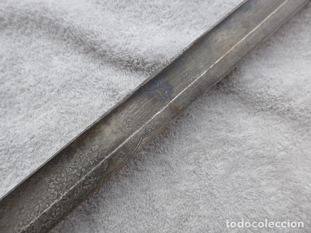 Militaria: * Antigua espada inglesa a identificar, original. ZX - Foto 19 - 161951788