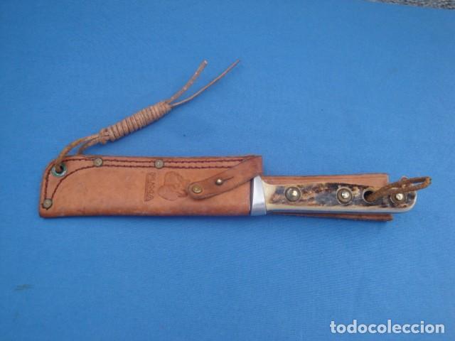Militaria: CUCHILLO PUMA TRAIL- GUIDE MODELO 6382 HAND MADE - Foto 5 - 133471730