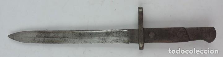 BAYONETA MILITAR ARTILLERÍA FCA. DE TOLEDO 1890 APROX. MIDE 37, 5 CMS DE LARGO TOTAL Y HOJA DE 25,2 (Militar - Armas Blancas Originales Fabricadas entre 1851 y 1945)