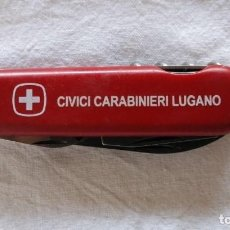 Militaria: NAVAJA MULTIUSOS, CARABINIERI, POLICÍA ITALIANA.. Lote 133957982