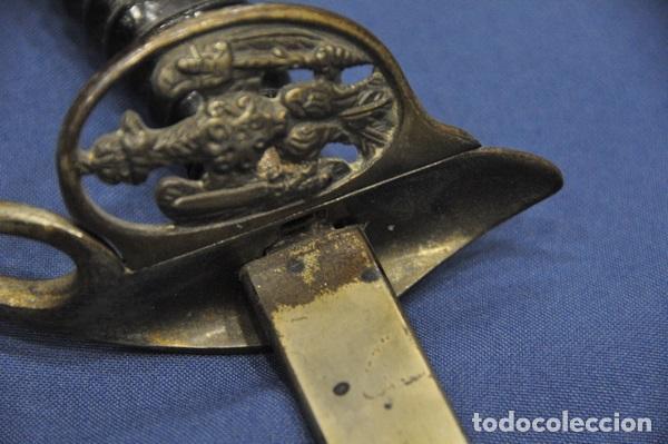 Militaria: Alemania Imperial. Espada de Oficial modelo 1889 . Primera Guerra Mundial. Marcada Alcoso. - Foto 5 - 135136430