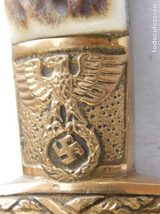 Militaria: Daga de lujo. Servicio Forestal Nacional del Tercer Reich. Reichsforstdienst. Original - Foto 11 - 135417878