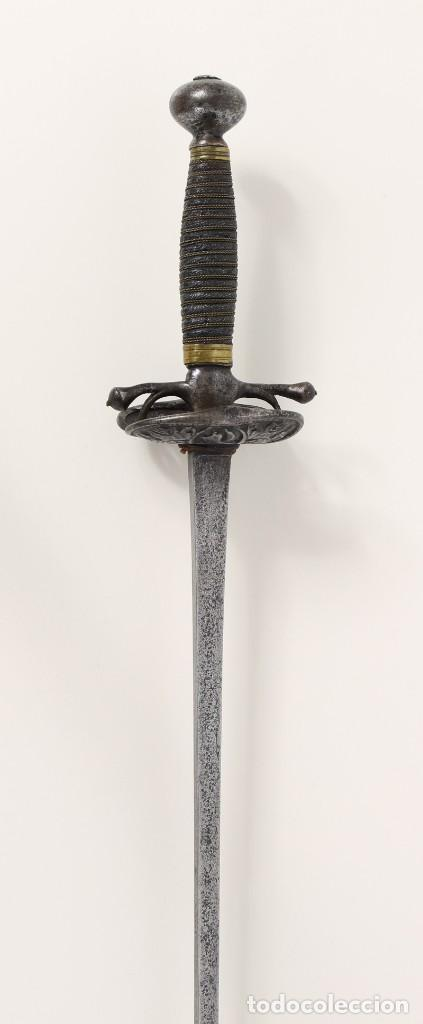 ESPADA FRANCESA VIVE LE ROY, SIGLO XVIII (Militar - Armas Blancas Originales de Fabricación Anterior a 1850)