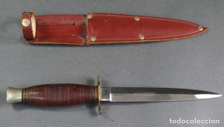 Cuchillo De Caza Ingles En Su Funda J Nowill So Comprar Armas