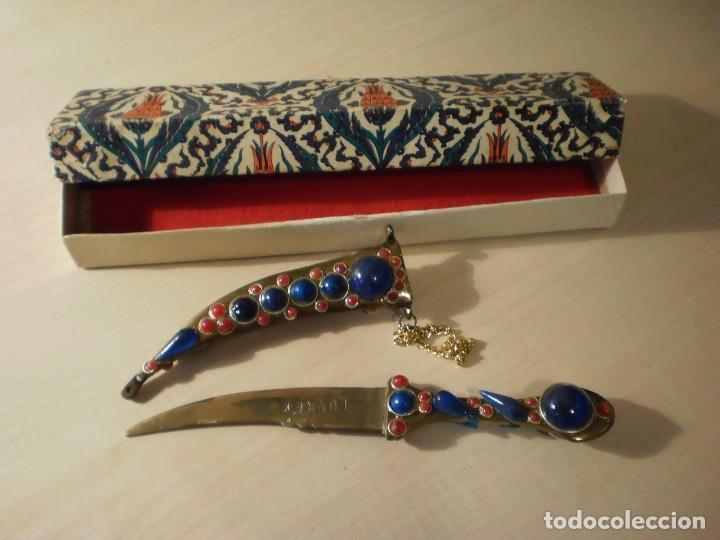 Militaria: Daga turca de decoración - Foto 2 - 142363270