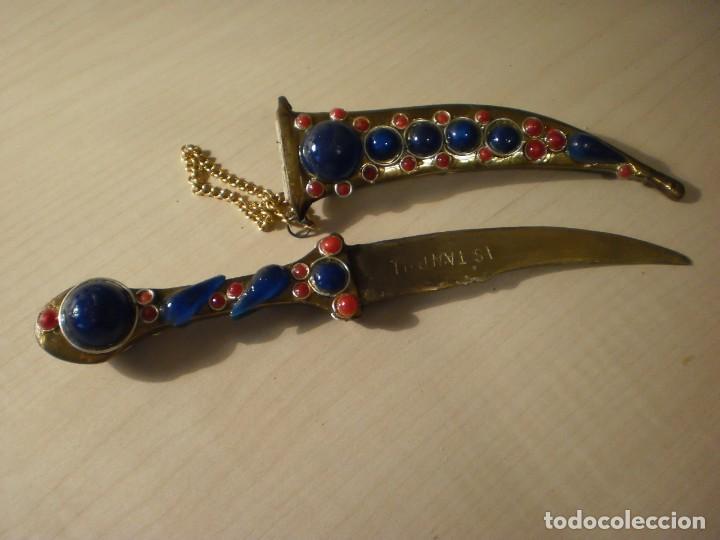 Militaria: Daga turca de decoración - Foto 5 - 142363270