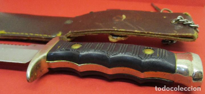 Militaria: Cuchillo de monte, deportivo, ALCE (MUELA), con funda, made in Spain - Foto 4 - 146087418