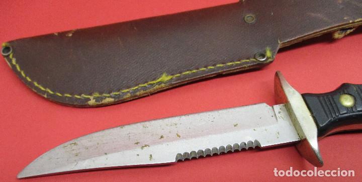 Militaria: Cuchillo de monte, deportivo, ALCE (MUELA), con funda, made in Spain - Foto 6 - 146087418
